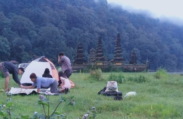 Camping - Tamblingan Lake - Tent